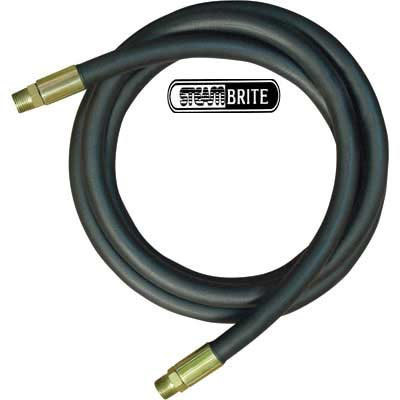 Jumper Hose Car wash 3/8in X 15 ft 3000 psi Solid X Solid Bend Restrictors one end - 8.918-339.0