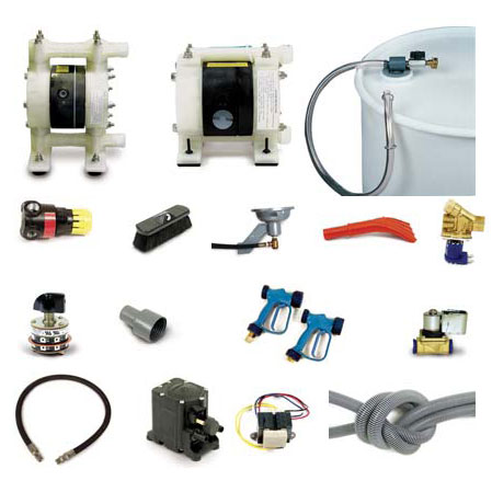 Car Wash Bay Accessories: Hoses, Cuffs, Yamada Pumps, Booms, Solenoids Valves, Proportioners