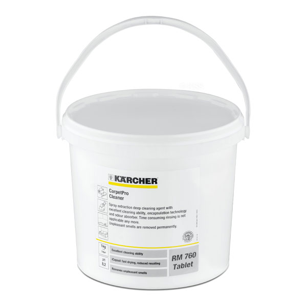 Karcher RM 760 Carpet Cleaning iCapsol Tablets 200 Count 6.290-500.0 Encapsulation No Rinse Technology 6.296-025.0