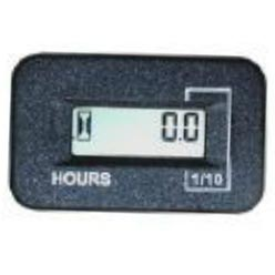 Digital Hour Meter 120 Volts, El 115/240 Volts 50/60 Hz - 9.802-283.0 Rectangle Housing