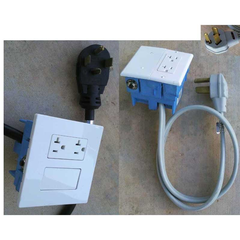 electrical converter twin pack one 3 wire 30 amp and one 4 wire click to enlarge