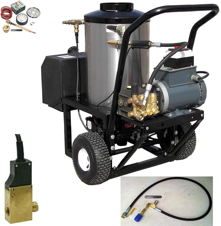 Pressure Pro 2115-15G1 2gpm 1500psi Electric Hot Pressure Washer Converted for Carpet Cleaning Work Too 20140111