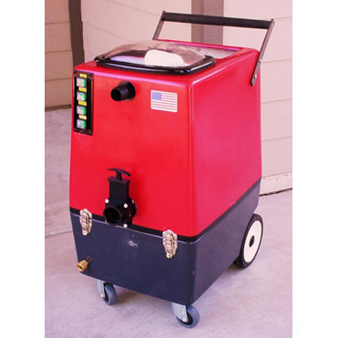 Carpet Cleaning Machine: 12 Gal Extractor - Dual 2Stage Vacs - 100psi