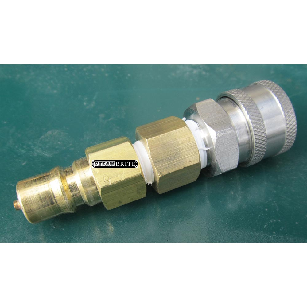 Carpet Cleaning 1 4 Fip Brass Male Nipple Stop Plug To