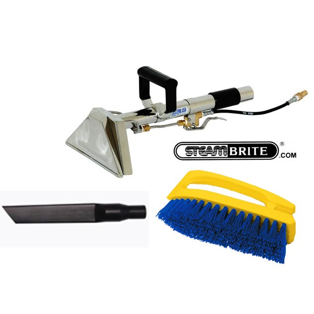 Carpet Cleaning Stair Wand Convenience Package with brush and crevice tool 20151222
