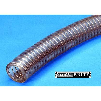"Pumptec 1/2"" Id Pump Suction Hose Per Foot Clear Wire Spring Reinforced SHOSE-1-2PS"