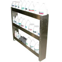Stainless Steel 3 Tier Van Shelves [AX128] Shelf 10-129  SS-144  A298  8.697-002.0
