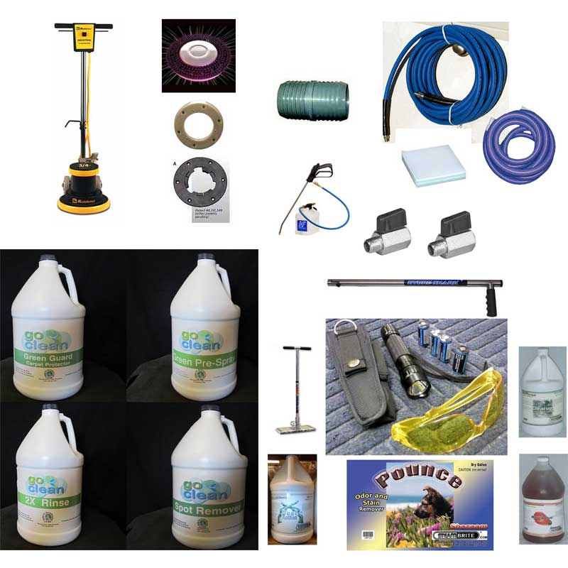 Carpet Cleaners Business Builder Starter Package (Kit 3) 20160530