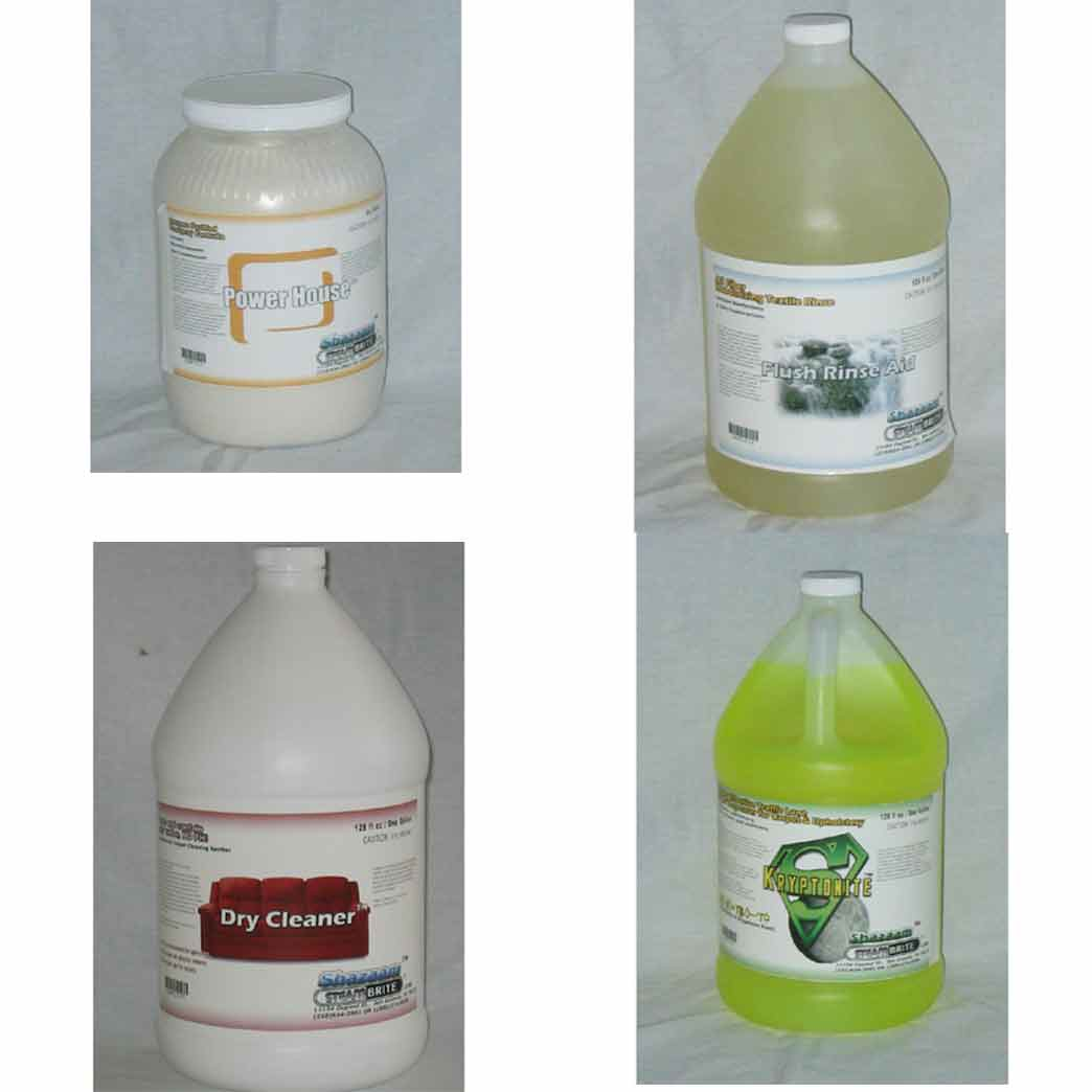 Shazaam: Carpet Cleaning Start Up Chemical Package Starter Pak