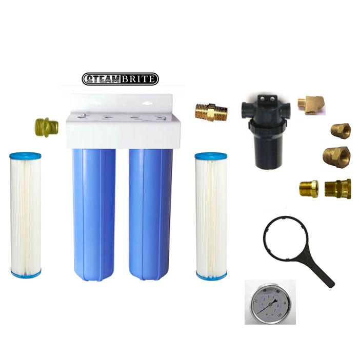 Clean Storm Filter Reclaim Quad Filter Pack 40 Mesh to 5 microns for Water Reuse 20141820