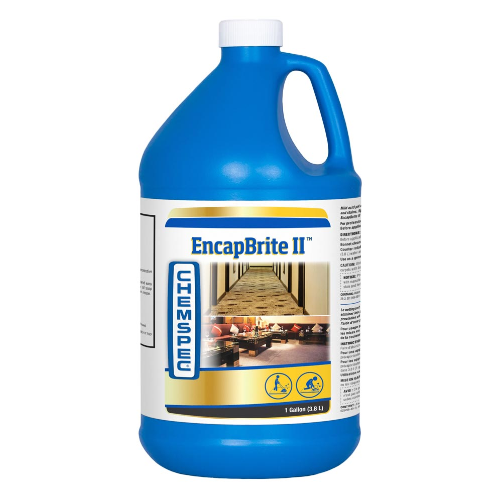 Chemspec C-NRRB24G EncapBrite II with Peroxide Bonnet and CRB Cleaner (Half Price Shipping)