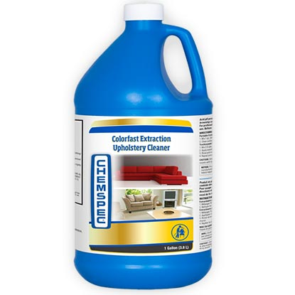 Chemspec Colorfast Extraction Upholstery and Rug Cleaner UPC 91965011101 Gallon Color Fast