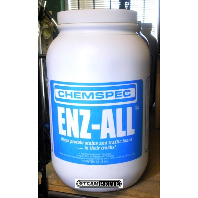 Chemspec C-EABK Enz-All Powder Clean Enzall 50 lbs Box/Pail Included Shipping 091965011514