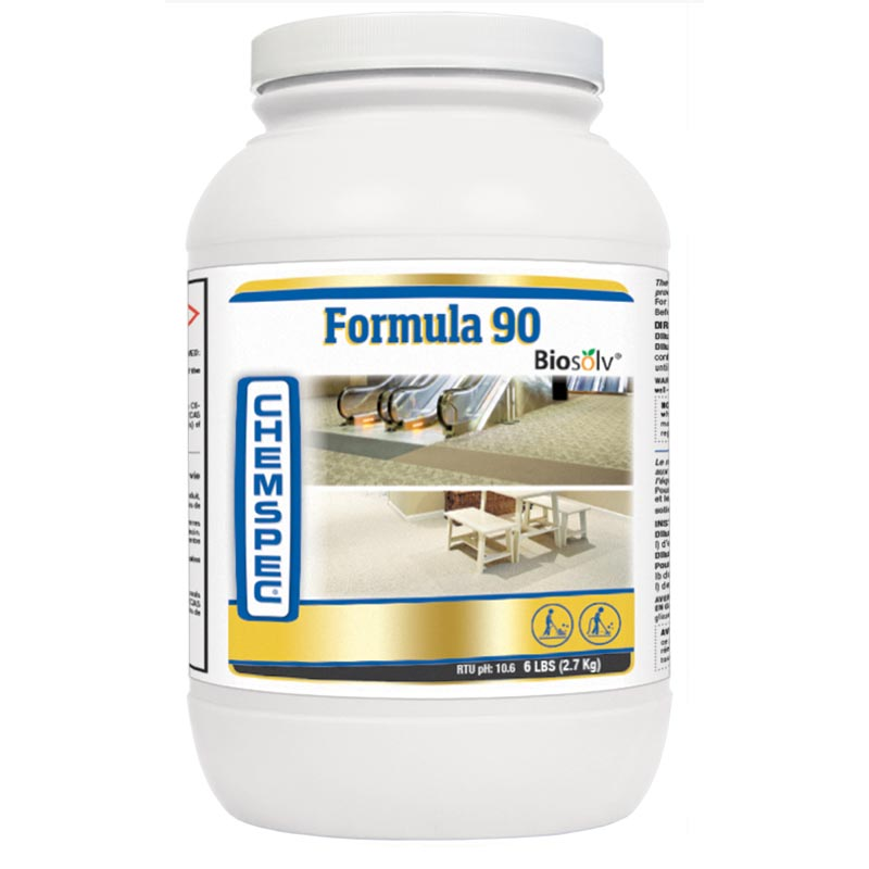 Chemspec C-PF9024 Formula 90 with Biosolv Original Traffic Lane Cleaner CASE 4/6 lbs Jars 10091965010637 FREE Shipping