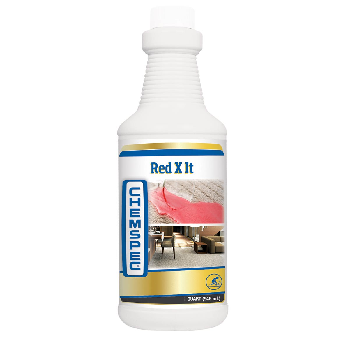 Chemspec RED X IT Sapphire Scientific 76-310 RedXit Red Stain Remover (1 Quart) UPC 847136000920