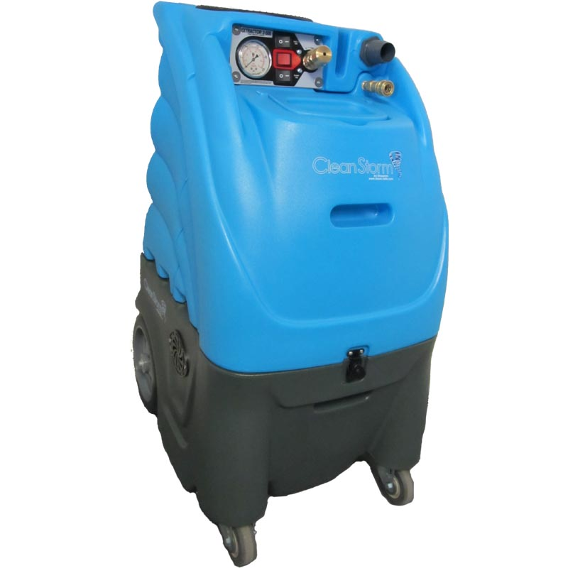 Clean Storm 12gal 1200psi 5 Stages Vacuum Auto Fill 20gpm Auto Dump Carpet Tile Grout Extractor 12-5000 Starter Package