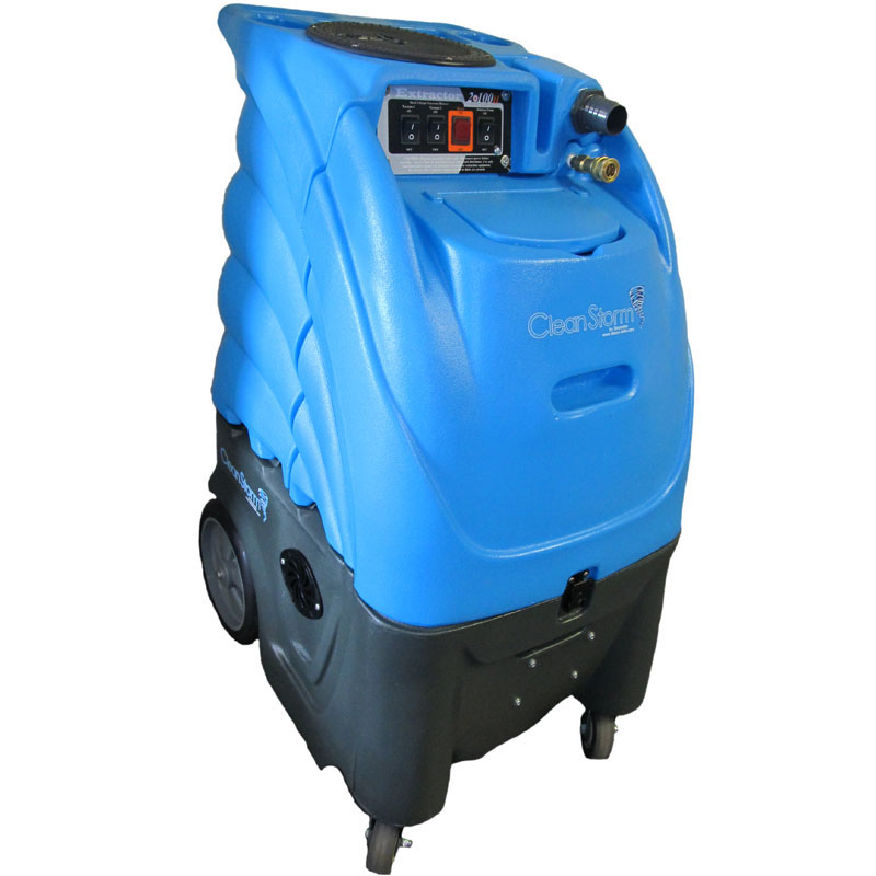 Clean Storm 12gal 500psi Dual 3 Stage Vacuum Carpet Cleaning Machine Package (230 volts for International Use)
