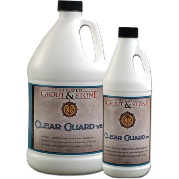 This Old Grout Amp Stone Clear Guard Wb 1 Gallon Cgwb G
