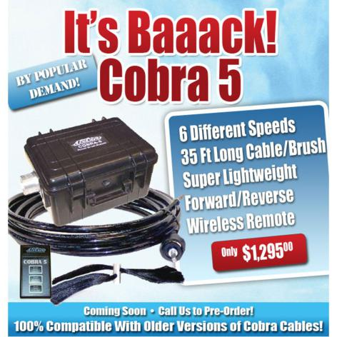 cobra 5 air duct cleaning machine