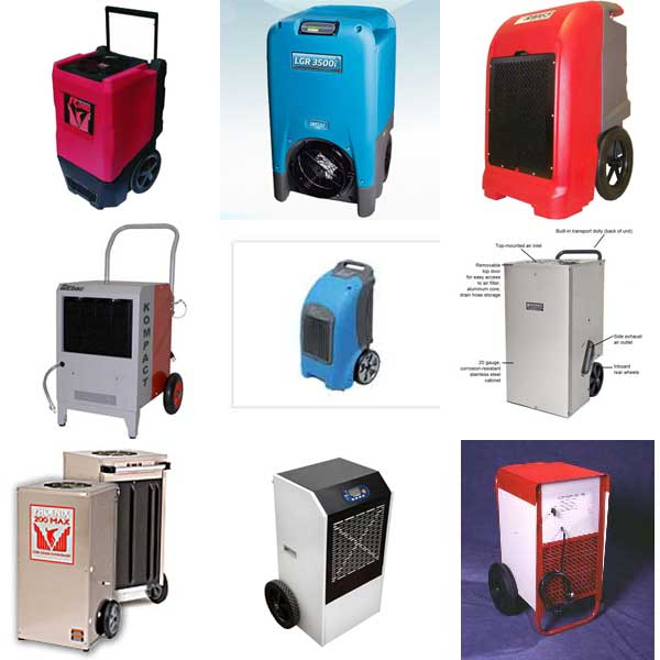 -Commercial and Industrial Dehumidifier Comparison Chart Compare Dehumidifiers