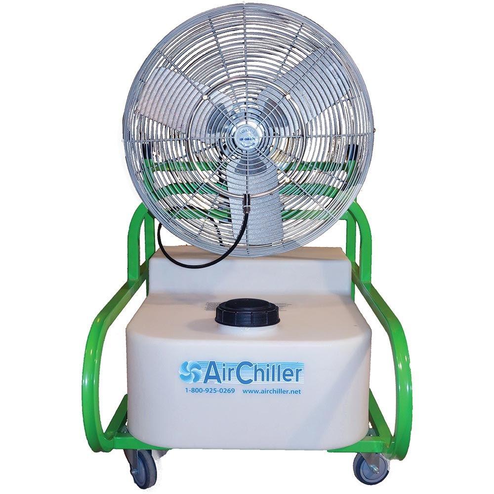 Air Misting Fan : Air chiller cu inch misting fan evaporative cooler