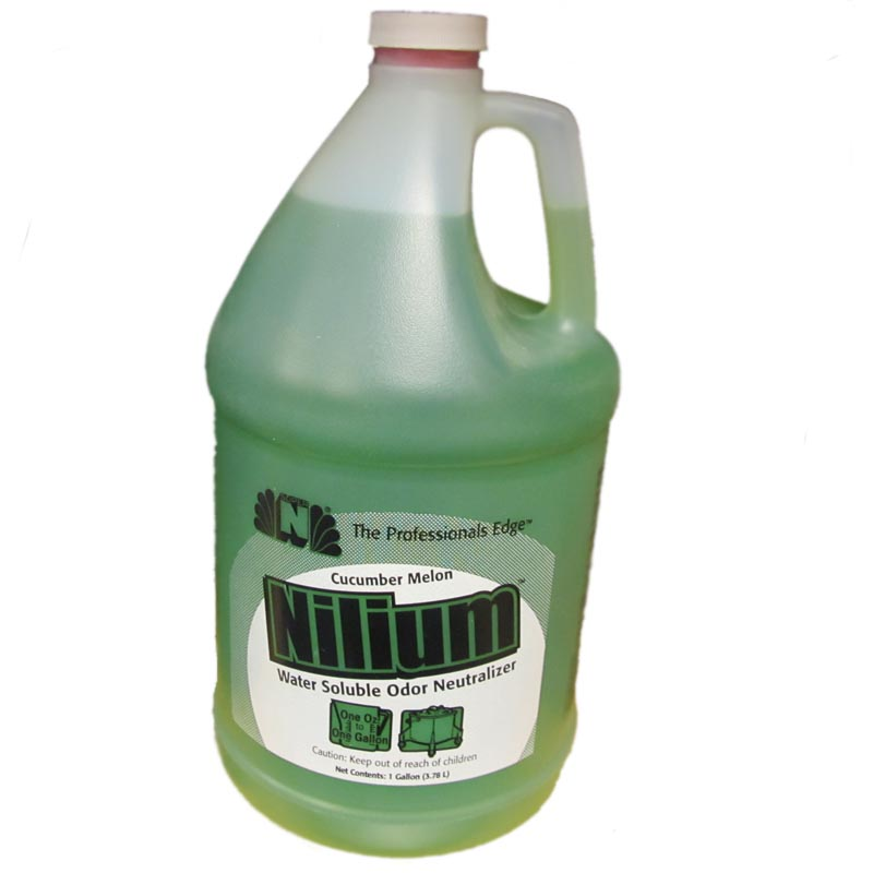Nilodor 128 WSCM Nilium Cucumber Melon Water Based Deodorizer (Case of 4x Gallons)