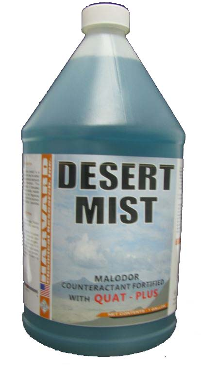 Harvard Chemical Desert Mist Deodorant with Quat-Plus Case 4/1Gallon 702-4