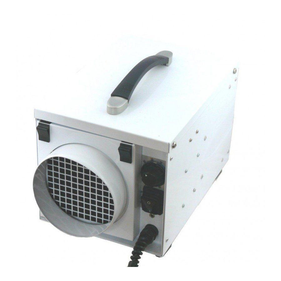 EcorPro EPD50-PRO Stainless Steel Portable Desiccant Dehumidifier 120v at 4.5 amp Freight