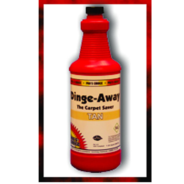 Pros Choice CTI Dinge Away Tan (Case of 12 QT Bottles) 1130C