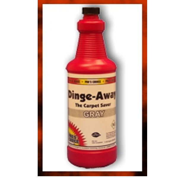 Pros Choice CTI Dinge Away Gray (Case of 12 QT Bottles) 1132C