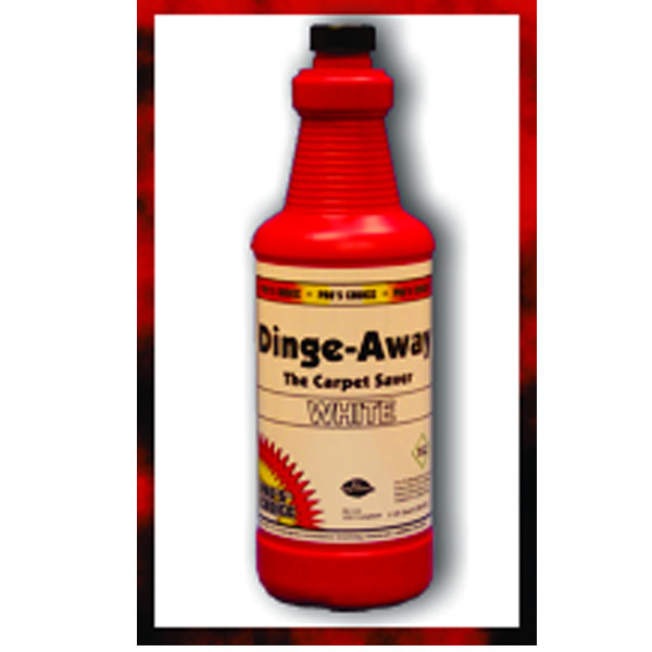Pros Choice Dinge Away White (Case of 12 QT Bottles)