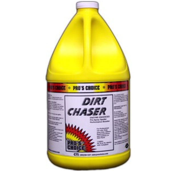 Pros Choice 3035: Dirt Chaser Enzyme Prespray & Spotter - 1 Gallon 078345003178