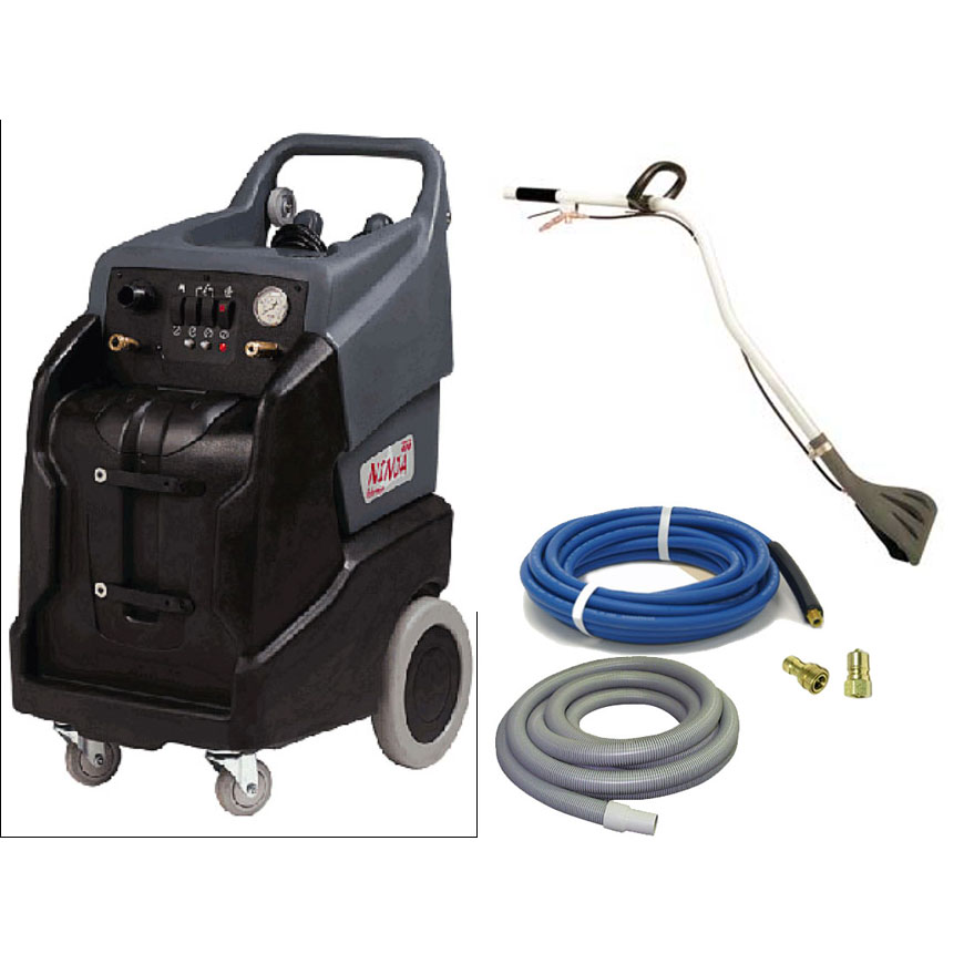 Karcher PUZZI 50/35 Windsor 9.840-846.0 Dominator 13gal 500psi HEATED Dual 2 Stage Vacuum Complete Starter Package 98408460 (Windsor Dominator 13) FREE Shipping
