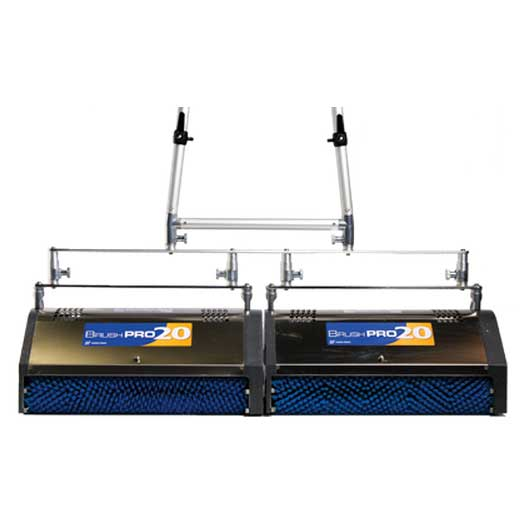 Bridgepoint Hydro-force Brush Pro 20in Dual Tandem Mounting Bar Encapsulation Machine
