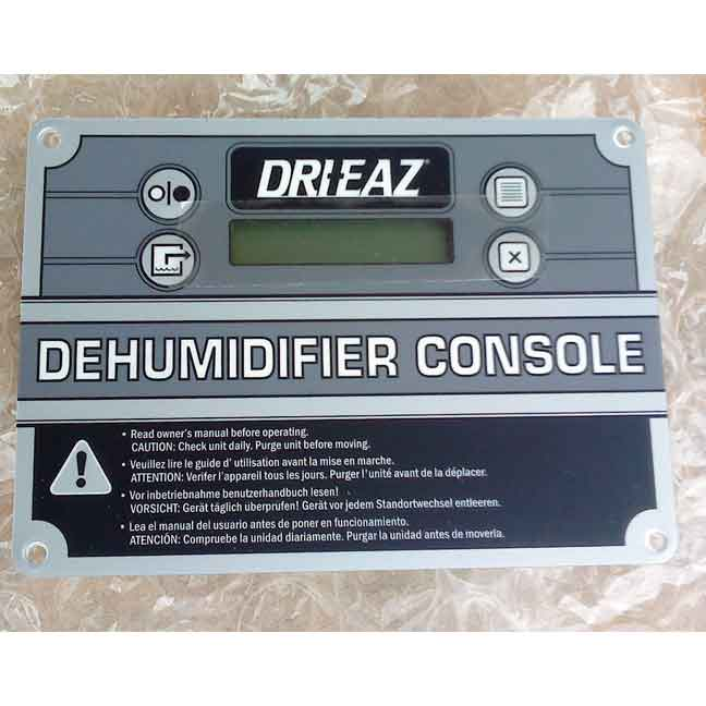 Drieaz 08-00259 Control Panel for 1200, 2000, 2400 dehumidifiers Board
