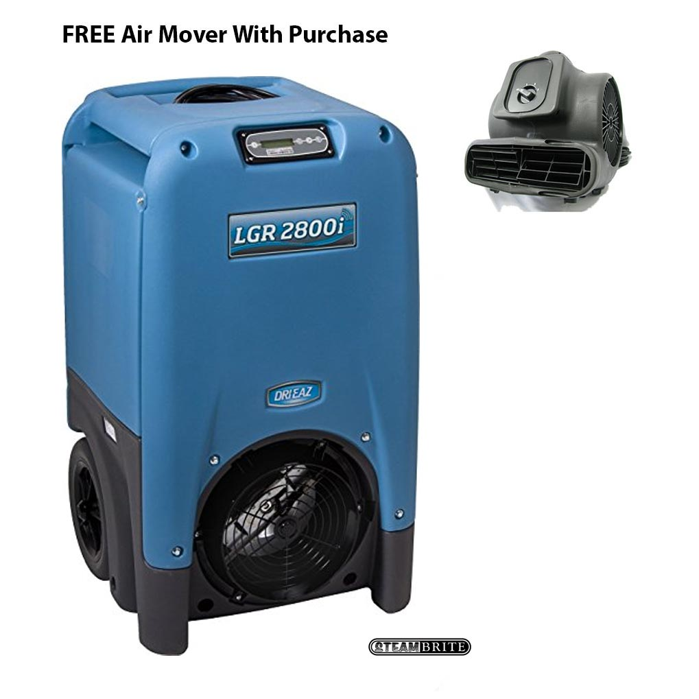 Drieaz F410 F Free Air Mover LGR 2800i Industrial Restoration Dehumidifier Package FREE Shipping
