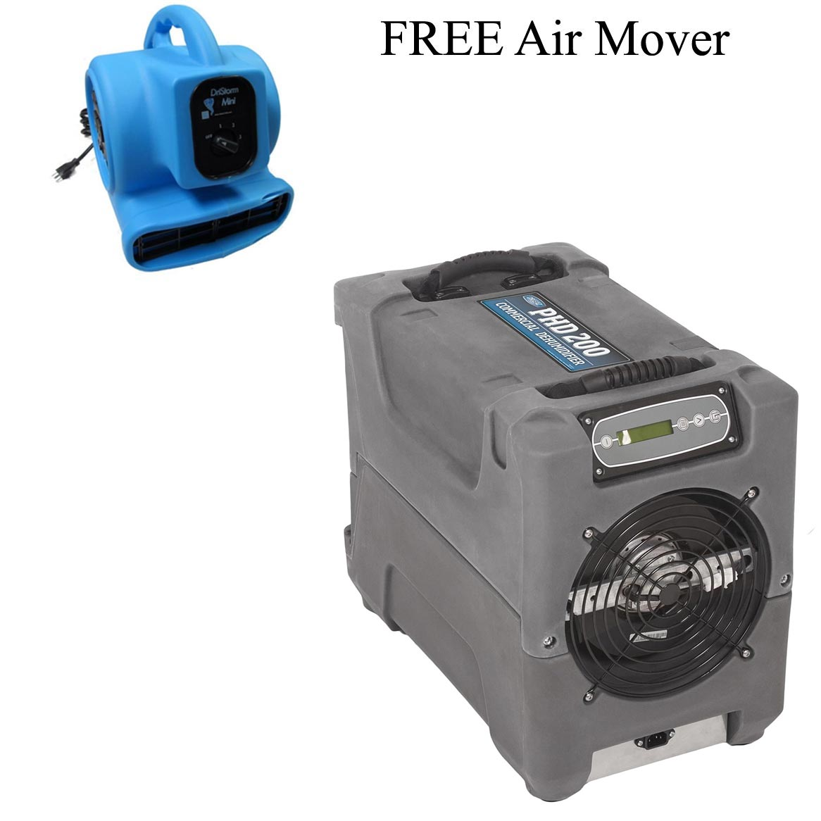 Drieaz F515 PHD200 Compact Craw Space Industrial Dehumidifier FREE Shipping FREE Air Mover [F515 PHD200]