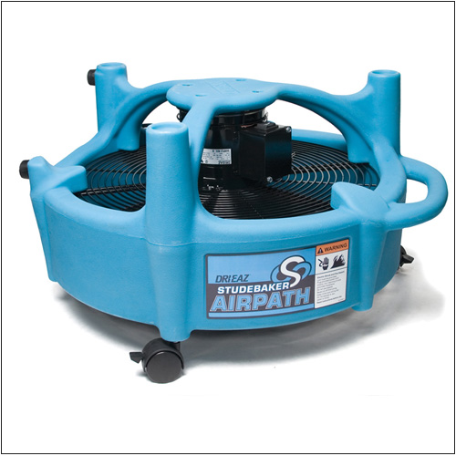 Drieaz F377 Air Path Studebaker Carpet Flood Restoration Air Mover Downdraft