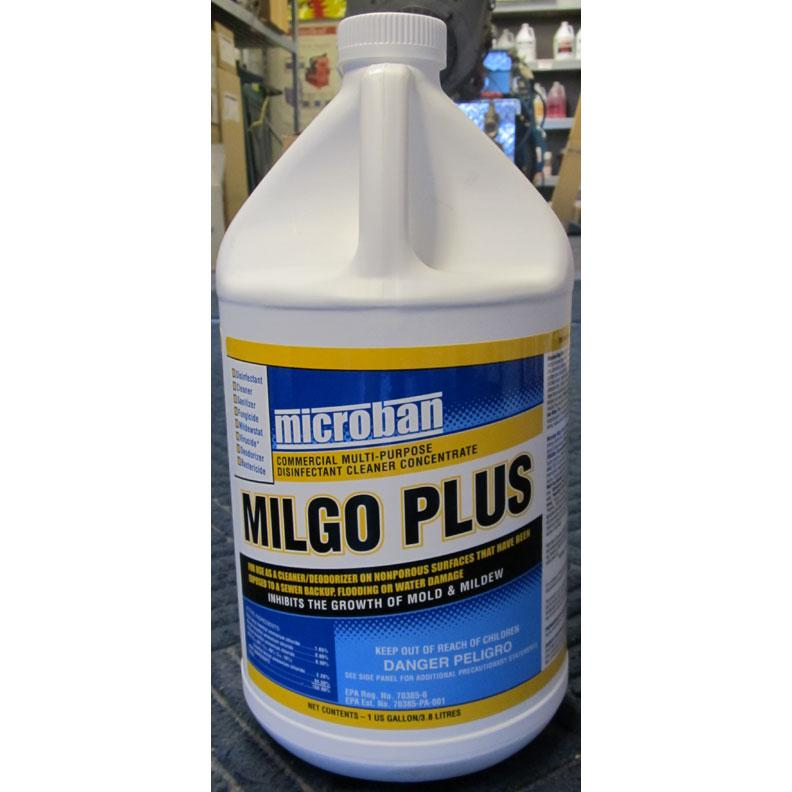 Chemspec Drieaz F447 Milgo Plus Microban QGC 689076133807-1 Gallon