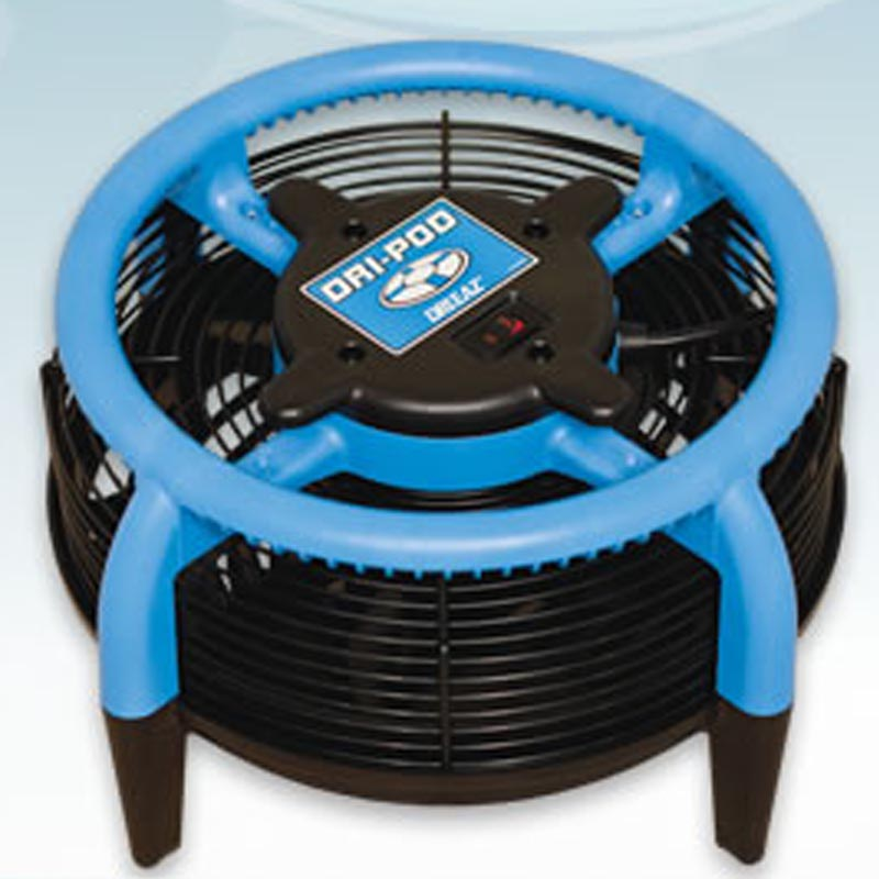 Drieaz F451 Carpet DriPod Flood Restoration Air Mover (AKA Dry Pod Dri-pod) VersaClean 68-195 Freight Included