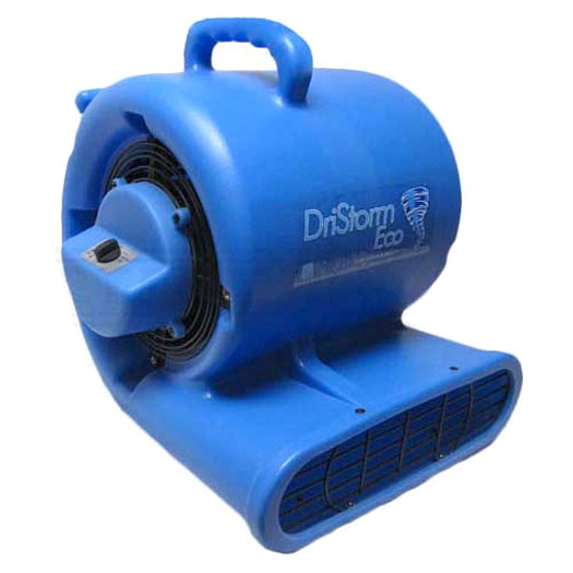 Dristorm Eco GFCI With Breaker Carpet Restoration Air Mover 3 Speed 1/3HP Centrifugal Fan Freight Included