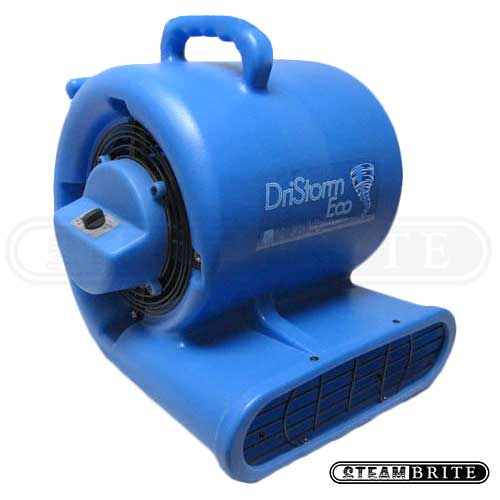 -Dristorm Eco GFCI w/ Breaker  Carpet Restoration Air Mover 3 Speed 1/3HP Centrifugal Fan FREE Shipping