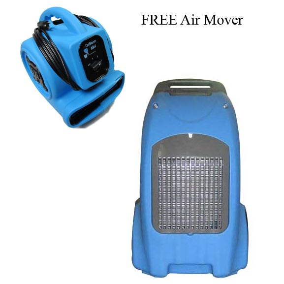 -DriStorm 239 Industrial Restoration LGR Dehumidifier W/ Pump Out FREE Shipping Free Air Mover