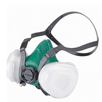 Clean Storm Maintenance-Free Dual Cartridge Respirator - Large (included)
