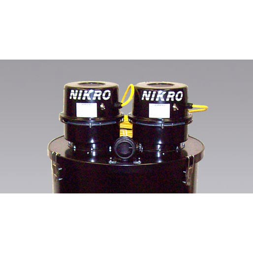 Nikro DP55230 55 GALLON DUAL MOTOR WET/DRY Top Vacuum Part Only NIKRO 860260-220v  55 Gallon Drum Adapter Kit Dual Motor Cleaning
