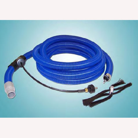 Air Care CE1959 Cable with 2 Inch X 35 ft Vac Hose Air Duct Cleaning Vacuum Hose 3/8in Cable 18in Flex-E Brush RP0258