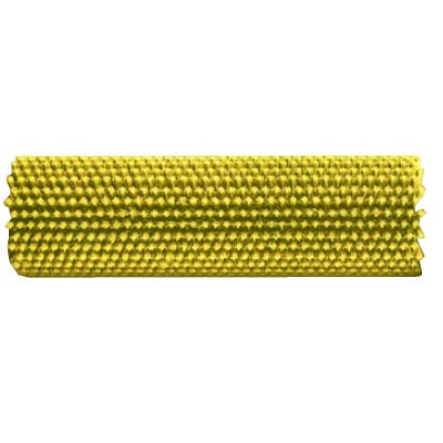CRB Industries TM5 B854-DS Hard Brush 18in for CRB 20in Floor Scrubber Machine Yellow Brush Sold Each