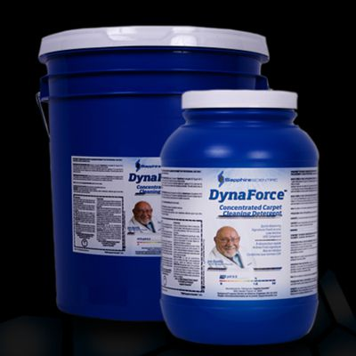 Chemspec C-DF4G DynaForce 77 Concentrated Carpet Cleaning Detergent 4/1 Gallon Case Powder Sapphire Scientific 76-021