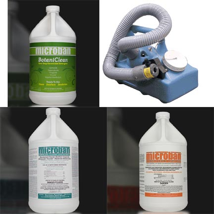 Enterovirus D68 Treatment Procedures Cleaners and Chemicals for Buildings and Structures.