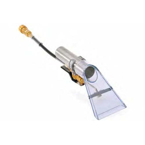 PMF U1560PB-500psi Open Spray Clear Head 3.5in Brass Valve Upholstery Tool EDIC 1037ACH Female QD